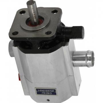 """Bride de pompe hydraulique pompe engrenages raccord hydraulique fileté 1"""" 90°"""