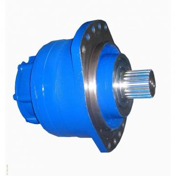 Rexroth hydraulic motor radial piston motor w/ brake 280 cm³/rev MCR3 Bosch